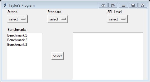 Working with OptionMenus – Taylor's Blog