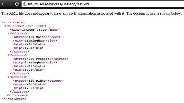 Automatically Downloading XML from Chrome – Taylor's Blog